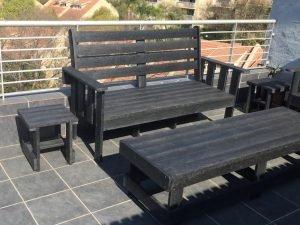 Recycled Plastic Furniture Morris Set Patio